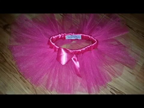 DIY How to make a Simple Basic Tutu