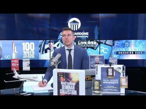 How to Be Successful with E-Mail and Voicemail Follow Up - Cardone Mastermind Event