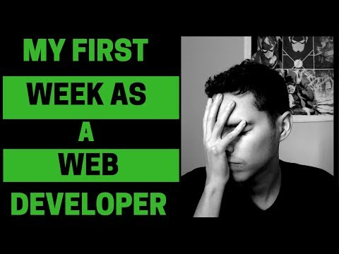 My FIRST WEEK As A Web Developer | Reality Check!!