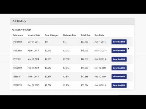 GT&T MyAccount - How to read your Billing Information