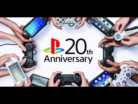 'PLAYSTATION START-UP SCREENS' - SHARE FACTORY - 20th ANNIVERSARY THEME (PS4)