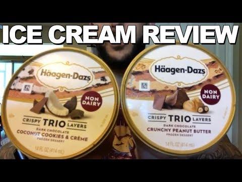 Ice Cream Review: Haagen-Dazs' Non-Dairy Trios
