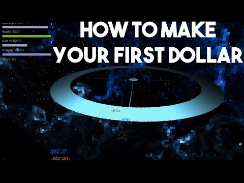 How to Make Your First Dollar in Space Dust