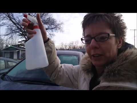 Easy Way to Clean Ice off Your Windshield