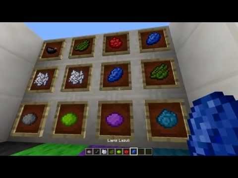 Minecraft Dye Crafting Tutorial - How to make all the Colors in Minecraft!