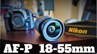 AF-P DX NIKKOR 18-55mm f/3.5-5.6G VR Lens Review | Nikon Lens + Test Shots + Overview + D7500 Body