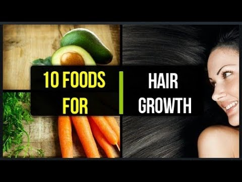 Foods you should eat for faster hair growth | 10 foods for hair growth |