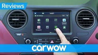Hyundai i10 2018 infotainment and interior review | Mat Watson Reviews