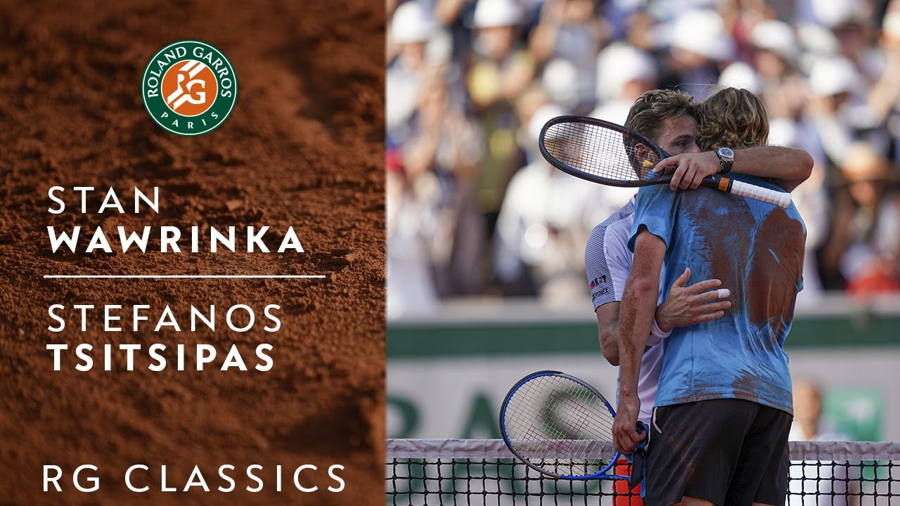 RG Classics - Stan Wawrinka vs Stefanos Tsitsipas - 2019   Roland-Garros