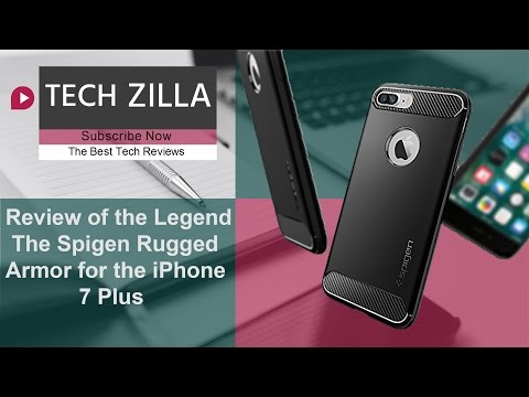 Spigen Rugged Armor for the iPhone 7 Plus Review - The Legend