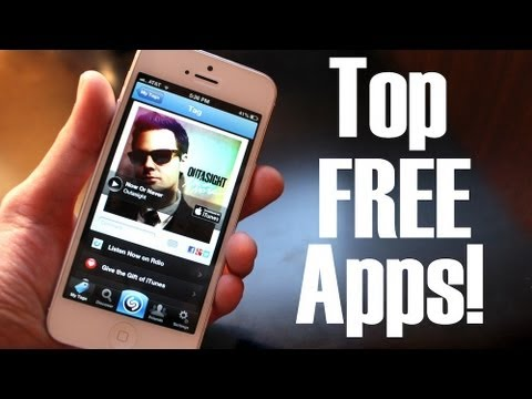 Top FREE Apps for iPhone & iPod Touch