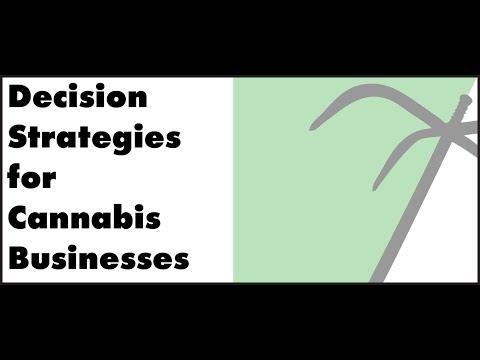 Decision Strategies for Growing Marijuana Businesses