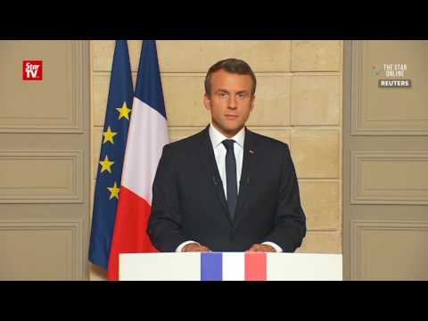Macron: Make our planet great again