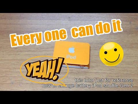 Change battery iPod Shuffle Gen 2