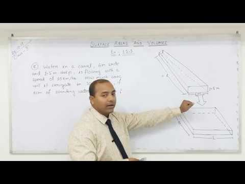 Class 10 Surface Areas and Volumes  (Part-15)
