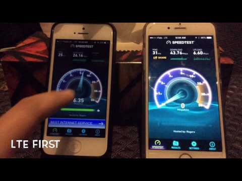 LTE VS 3G TEST. PUBLIC MOBLIE (TELUS) ON IPHONE 5 VS FIDO (ROGERS) ON IPHONE 6