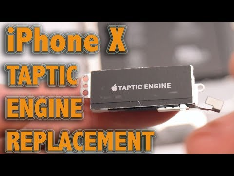 iPhone X Taptic Engine Replacement