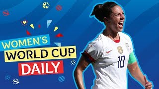 Lloyd's double puts USA through to Round of 16   Women's World Cup Daily