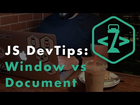 Differences Between the Window and Document for JavaScript Development