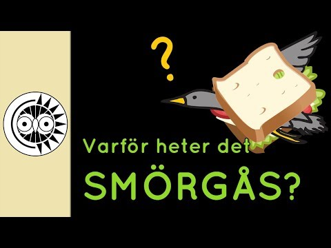 Why is sandwich called 'smörgås'? (Swedish with English subtitles)