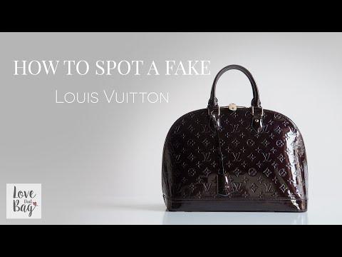 How to Spot a Fake: Louis Vuitton Handbag