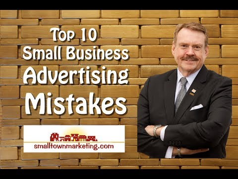 [Podcast] Top10 Advertising Mistakes Small Business Owners Make
