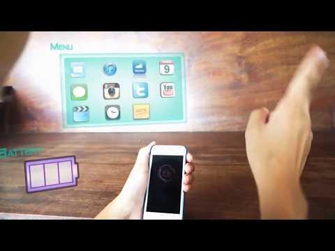 Iphone 5s hologram display