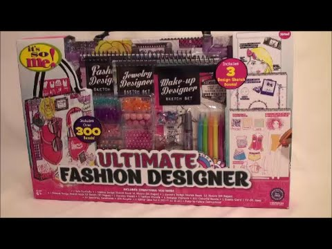 Ultimate Fashion Designer Sketch Book Set Review