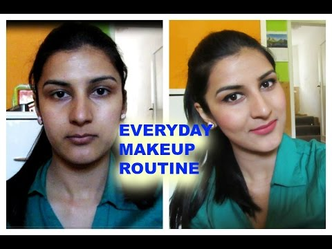 MY EVERYDAY MAKEUP ROUTINE IN SUMMER (INDIAN/brown/olive/tanned skin tone)