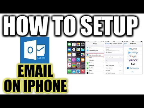 How to Set Up and Configure Hotmail Email on iPhone - All Email Services on iPhone