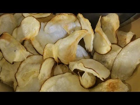 Air Fryer Potato Chips 2017 Cooks Essentials 5.3qt AirFryer