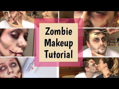 HALLOWEEN MAKEUP IDEAS | Zombie Makeup Tutorial