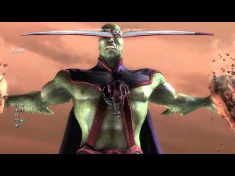Martian Manhunters Super Power In injustice Gods Among Us