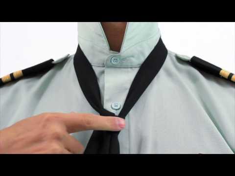Tie a Half Windsor - Tie a Tie (2472 Army Cadets)