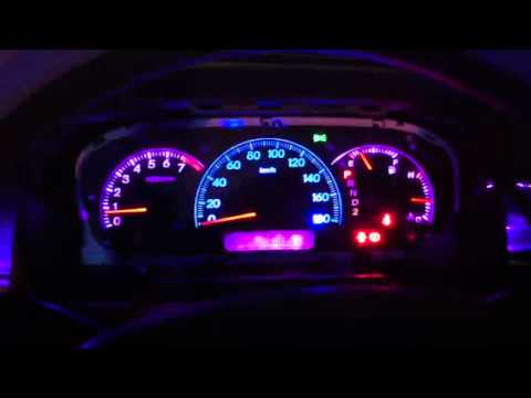 Dual Colour Speedometer Light Modification