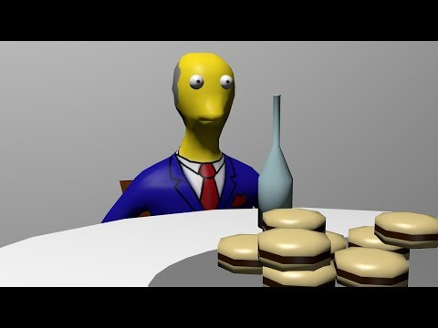Steamed hams but it's in 3d