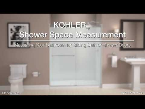 Measuring Your Bathroom for KOHLER Sliding Bath or Shower Doors