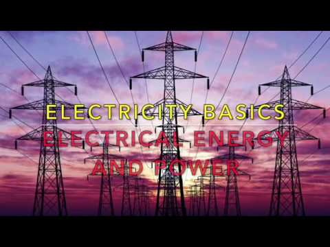 Explaining and measuring electrical power and energy