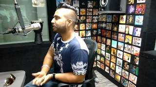 SUKH-E (Muzical Doctorz ) - ALL BLACK (SONG INTERVIEW) @104.8 OYE FM BY RAAJ JONES