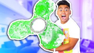 DIY Mega Giant Gummy Fidget Spinner! (MASSIVE)