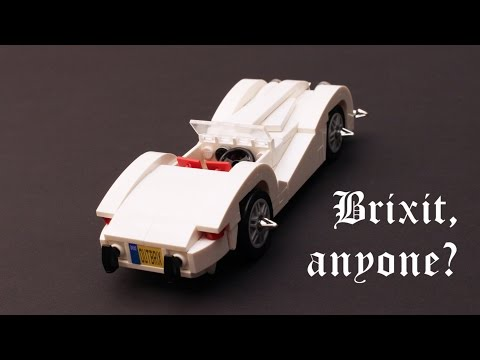 How To Build a Jaguar XK 120 Sports Car with LEGO MOC / Tutorial / Instructions