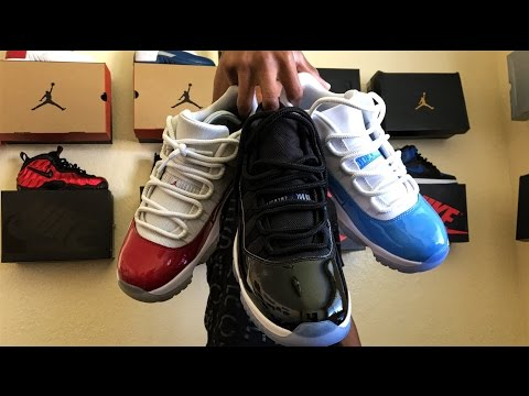 How To: Lace Jordan 11s