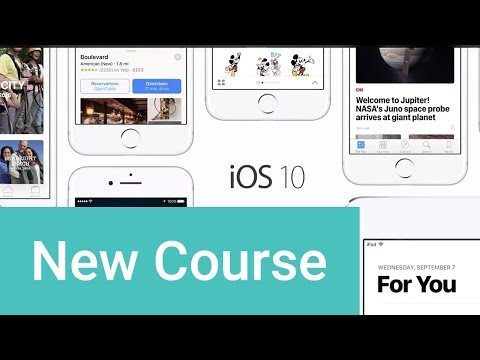 Create iOS Apps With Swift 3 - Trailer