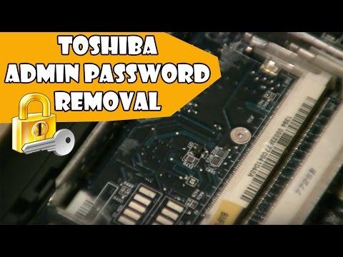 Toshiba A215 Bios Admin Password removal