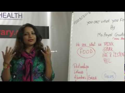 You are what you FOCUS On By Ms. Payal Goda on Health HELP Talks