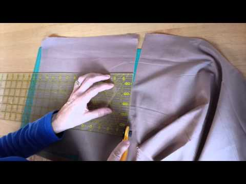 How to cut fabric for patchwork and quilting