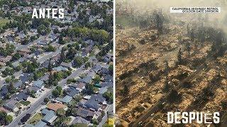 Gran tribulación en California por incendios devastadores