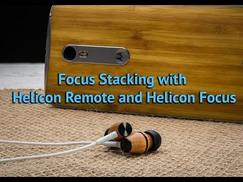 Focus Stacking with Helicon Focus