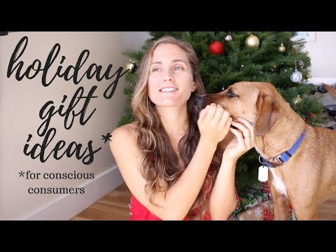 🎄☃️Holiday Gift Ideas for Conscious Consumers || Sustainable, Kind, & Affordable|| ❄️🎄