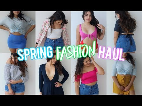 HUGE Spring Try On Haul 2017: Zara, Urban Outfitters, Brandy Melville, Forever 21+ More